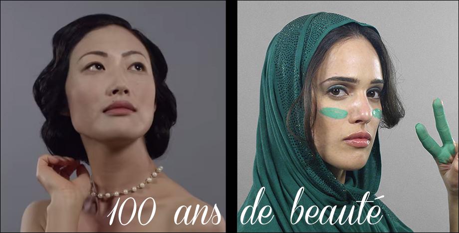 100 ans de beauté, Etats-Unis, Iran, Corée, Histoire de la beauté