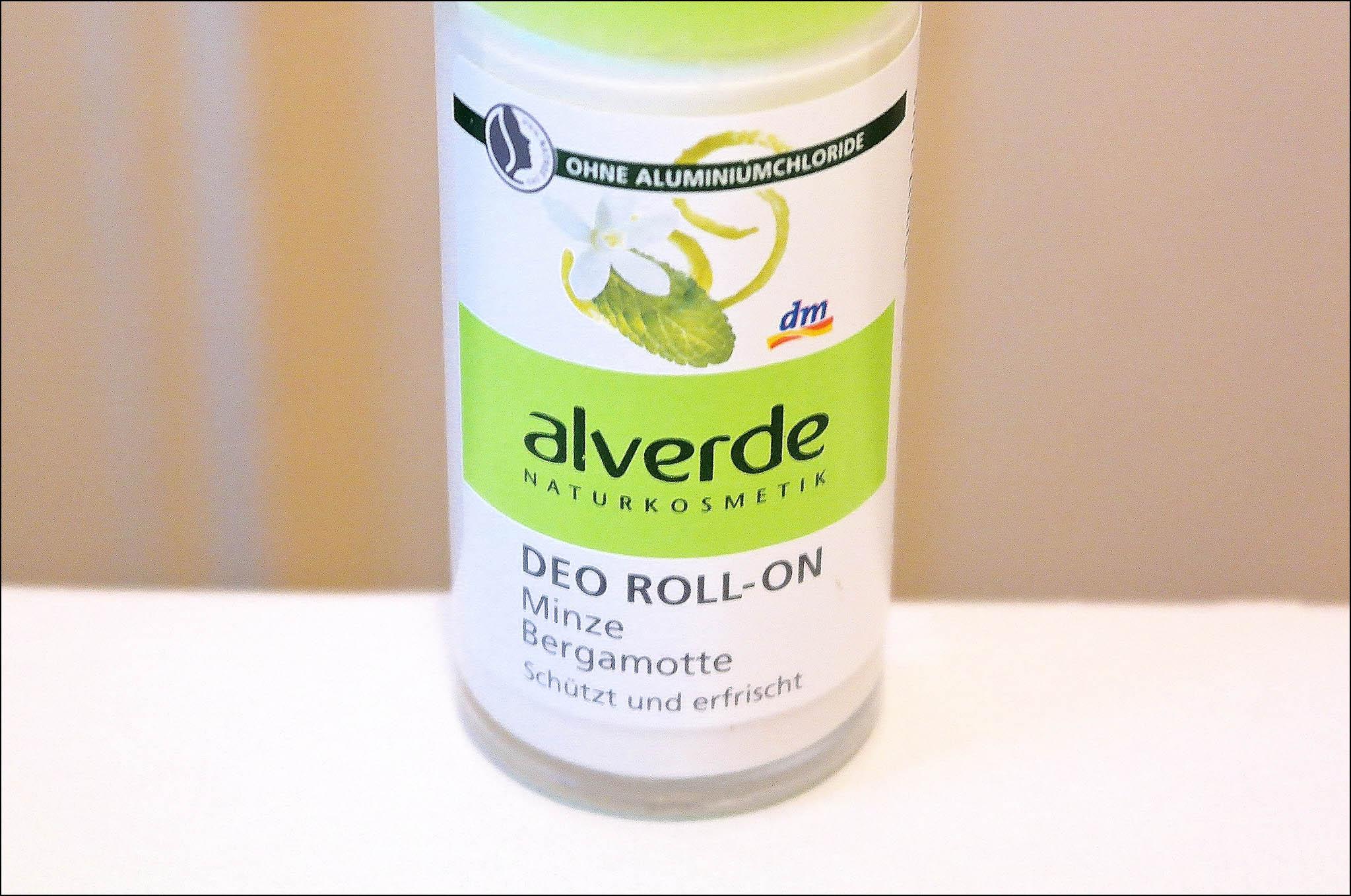 déodorant, alverde, menthe, bergamote, déodorant alverde, alverde deodorant