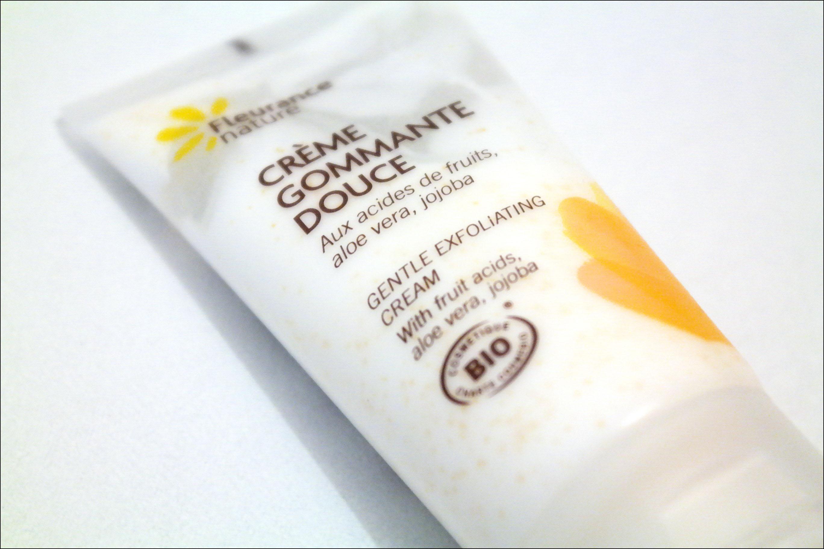 gommage, fleurance nature, crème gommante douce, crème gommante douce fleurance nature, gommage fleurance nature