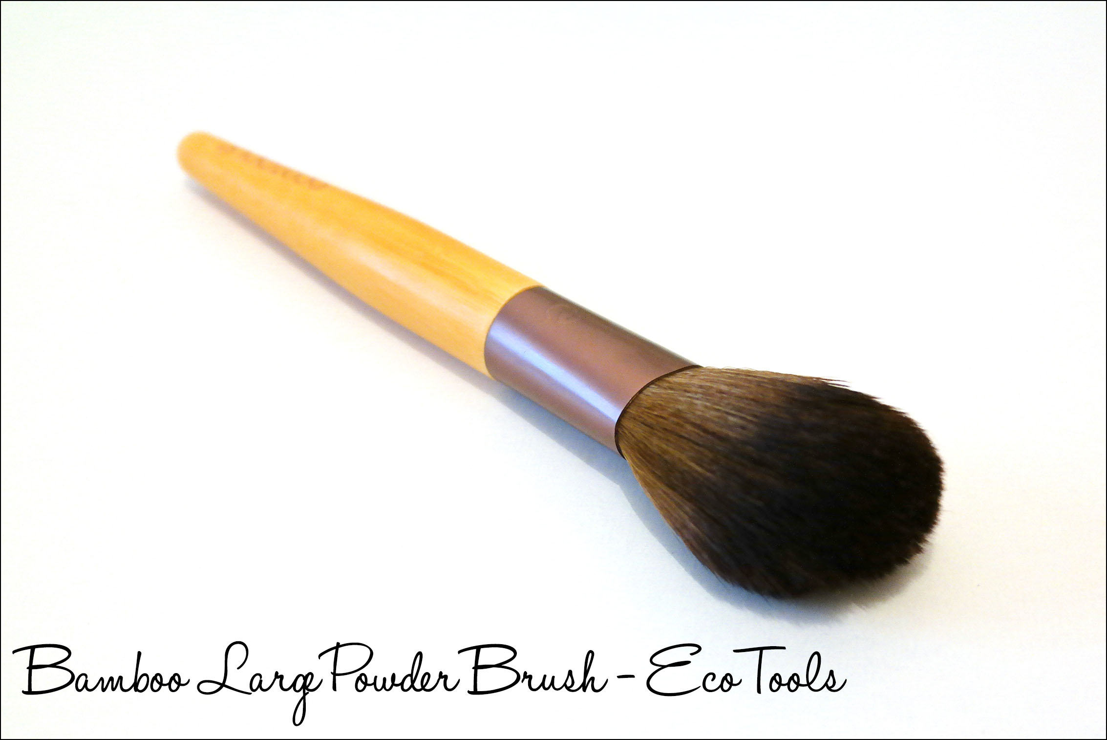 pinceaux, pinceau, teint, bamboo large powder brush, ecotools, poudre