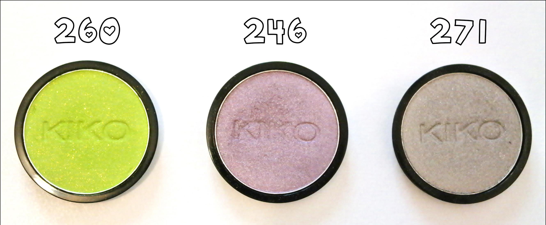 kiko, eyes clics, infinity eyeshadow