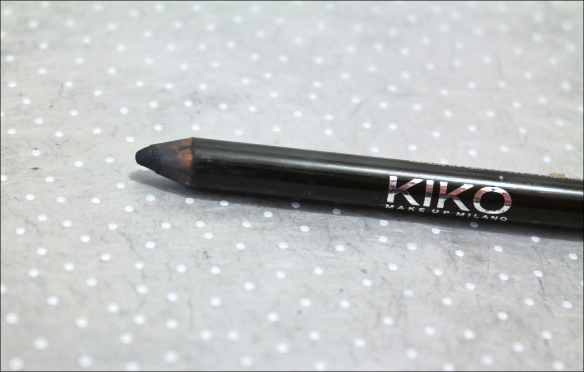 crayon noir, kajal, kiko, kajal kiko