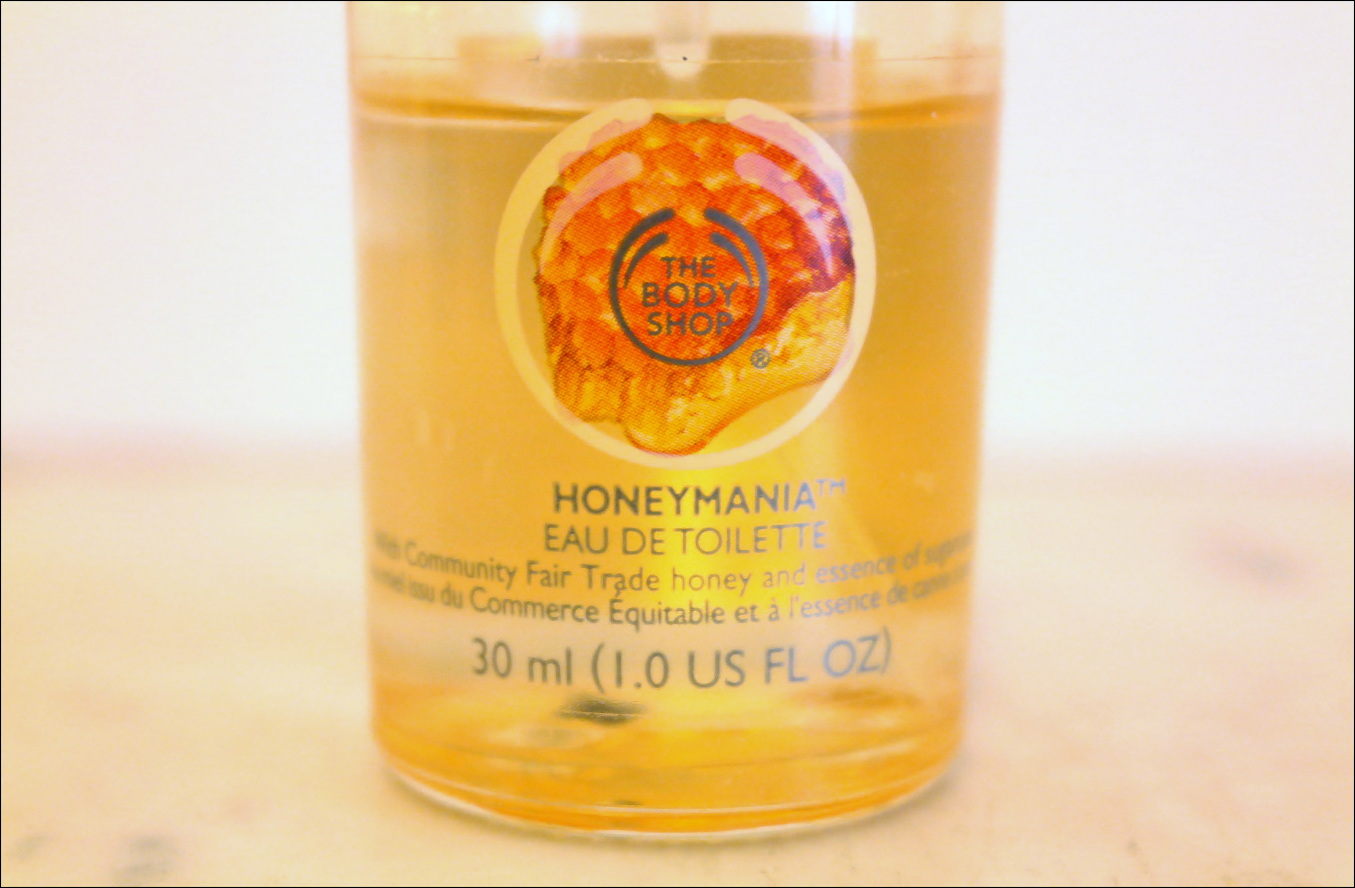 the body shop, eau de toilette, parfum, moringa, honeymania
