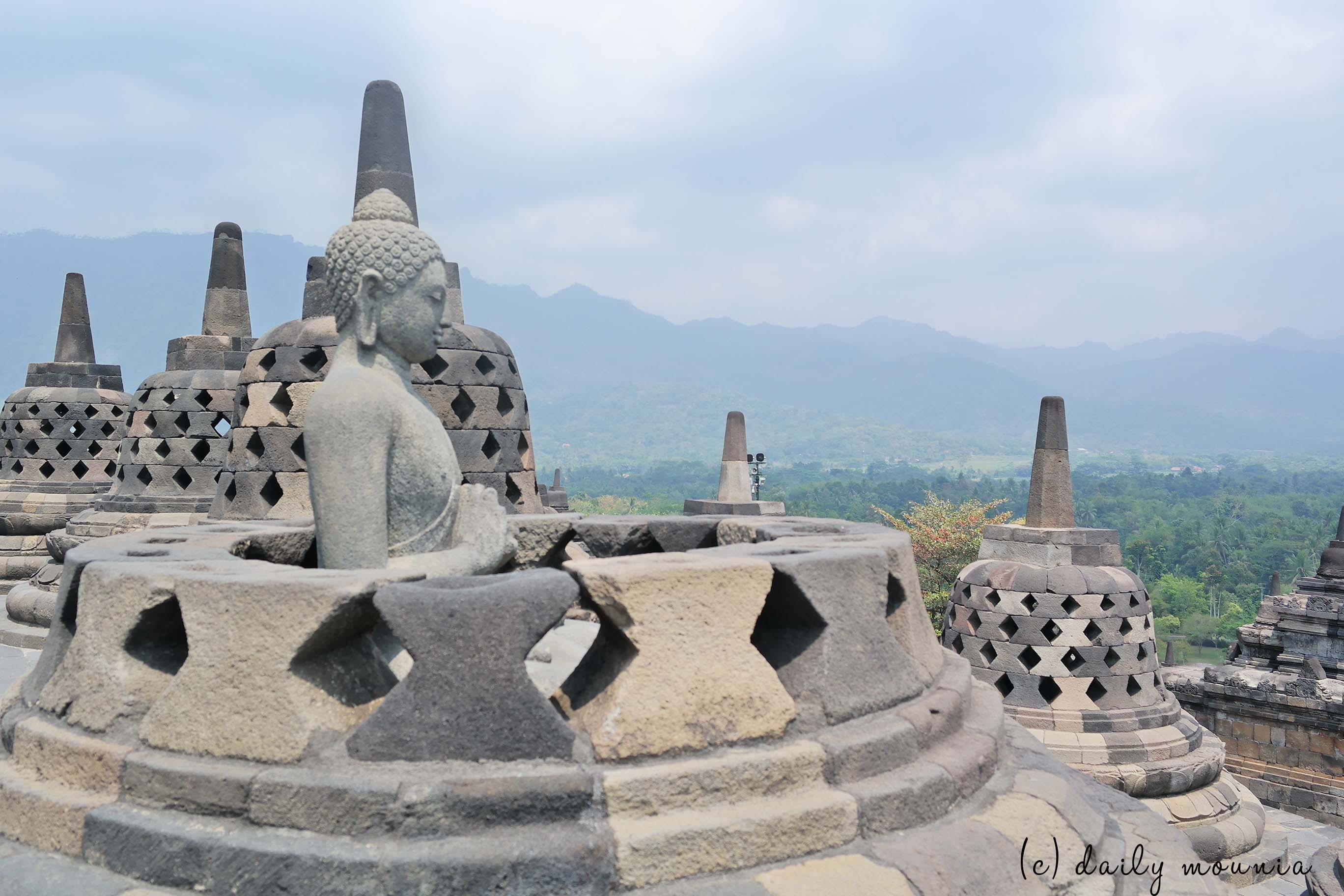 indonésie, yogyakarta, java, borobudur