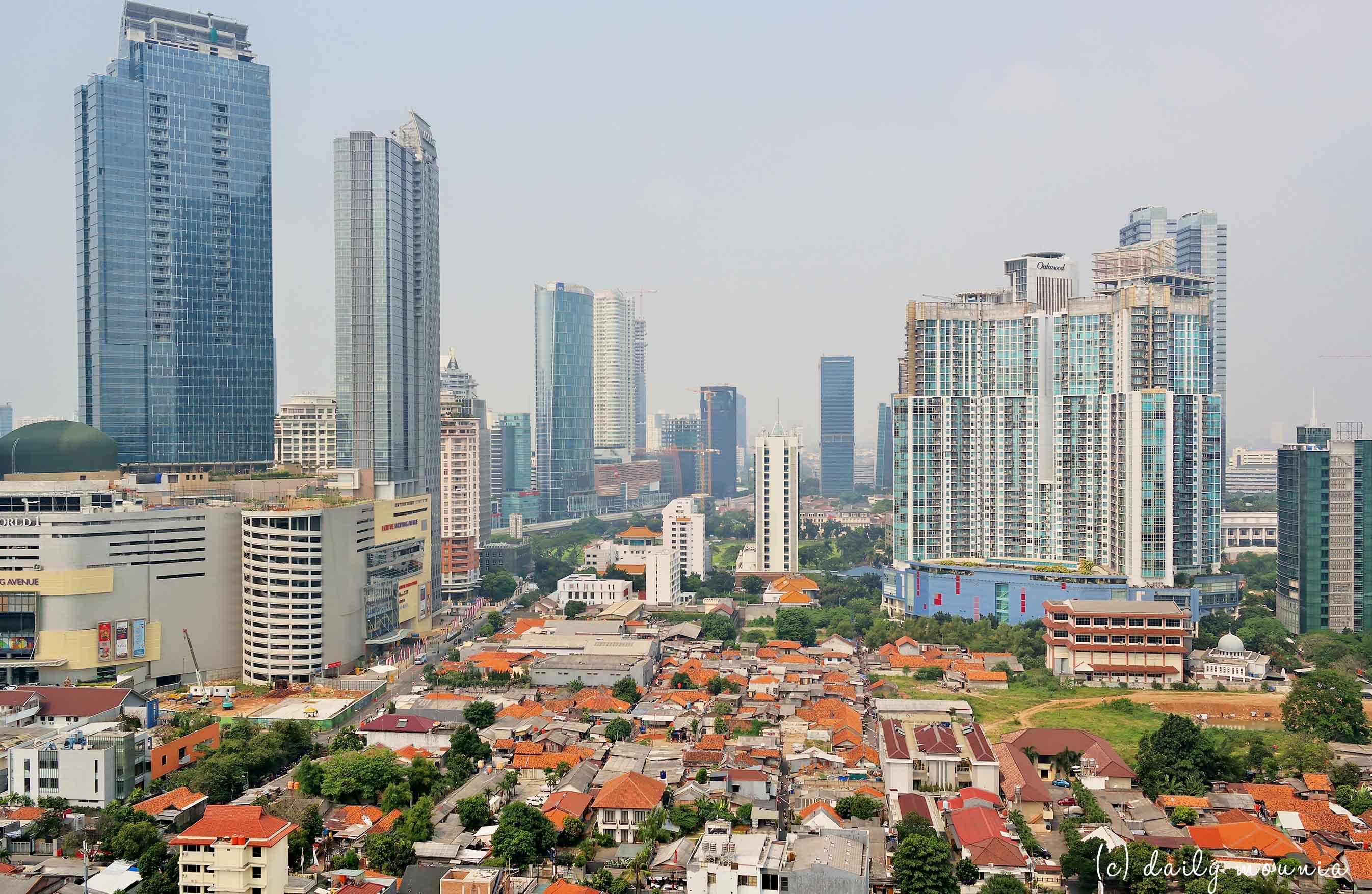 indonésie, java, jakarta