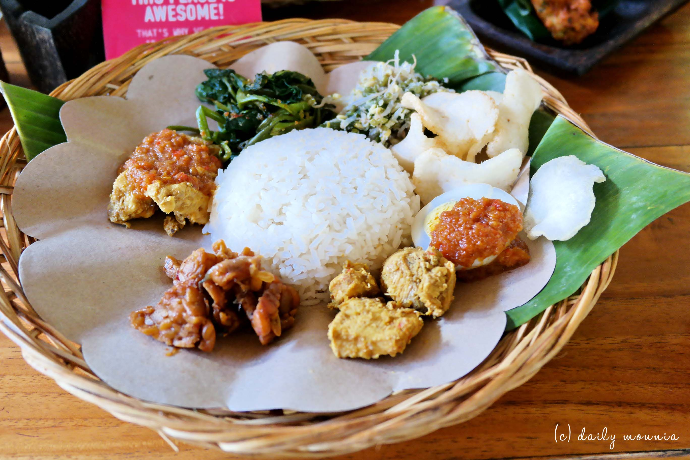 indonésie, repas, java, bali, jakarta, yogyakarta
