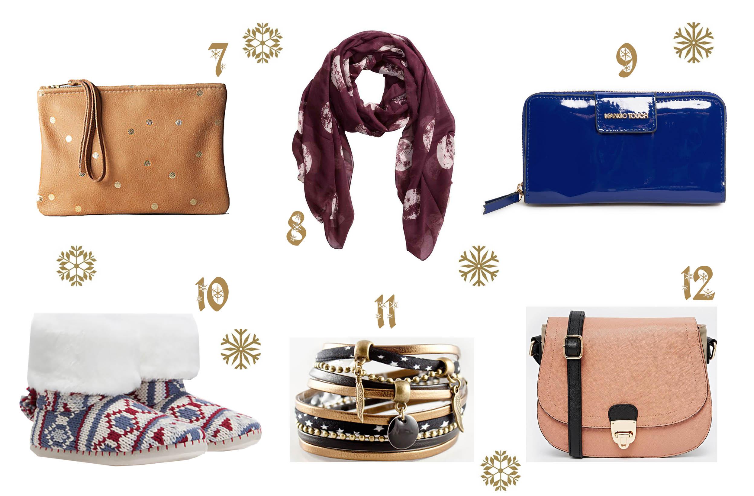 noel, mode, accessoires, maroquinerie, bijoux