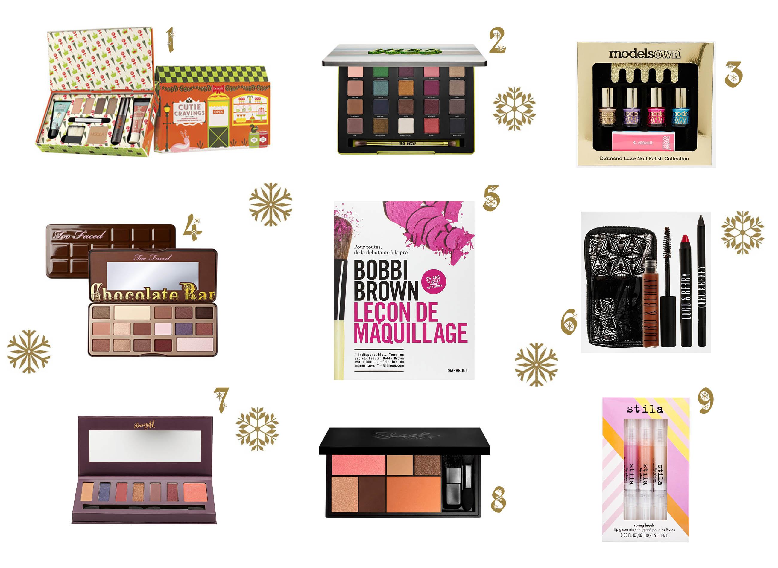 noel, makeup, wishlist, maquillage